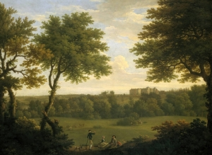 Copped Hall by George Lambert 1746