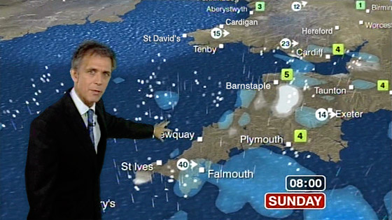 """What shapes the weather in Britain ? """" 