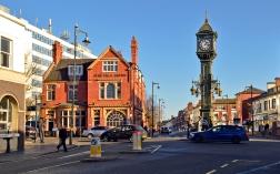Chamberlain Clock, Jewellery Quarter, Birmingham UK